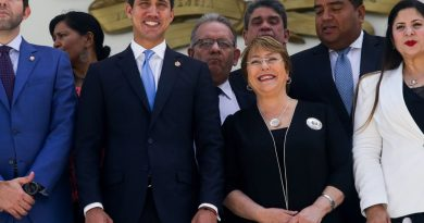 Venezuelan Vice President Condemns Bachelet's Silence on Repression in Chile