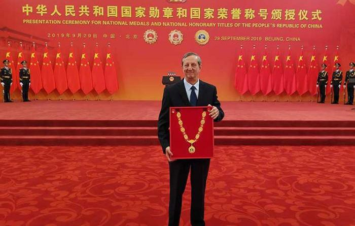 Castro Receives Highest State Distinction Granted by China to Friends in Other Nations
