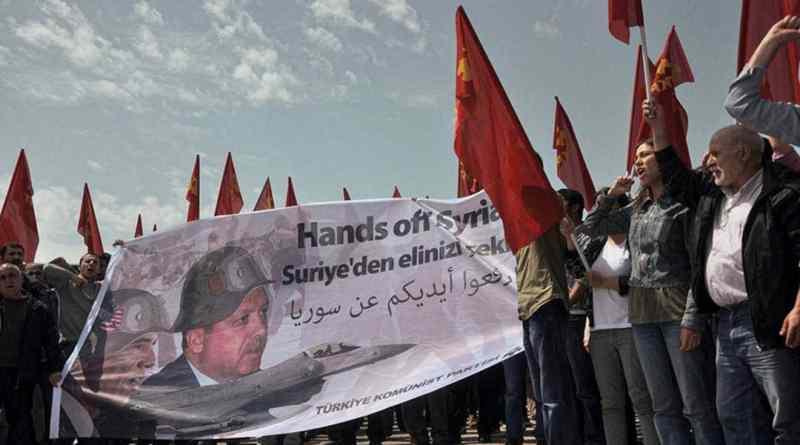 Communist Party of Turkey: 'Hands off Syria!'