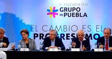 Evo Morales Joins the Puebla Group