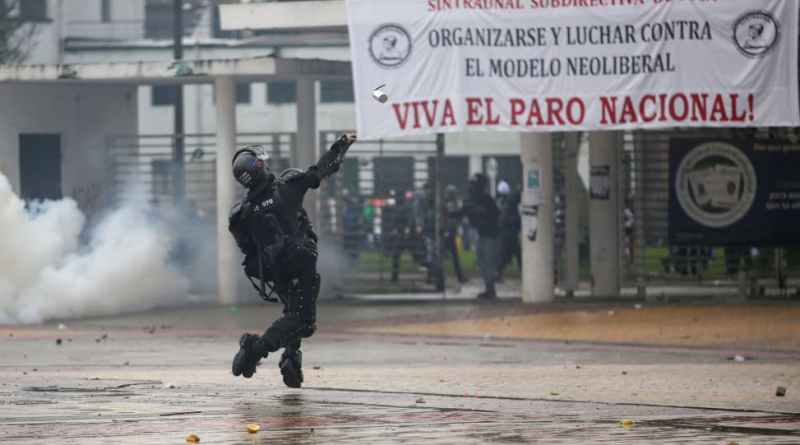 Is Colombia Exploding? In some Cities the 21N is Not Over Yet - State Terrorism?