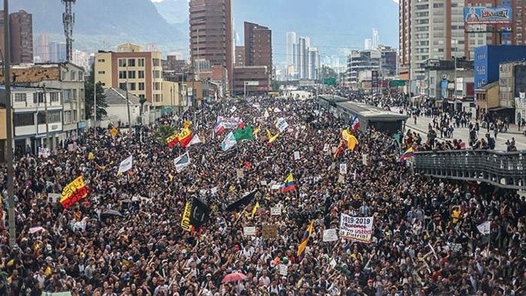 Colombia: Large Military and Police Presence after Two Days of Mass Protests