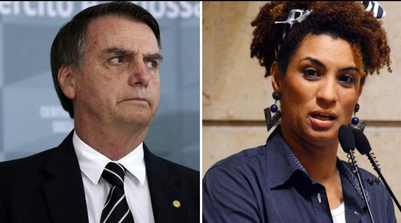 Brazilians March Against Bolsonaro and his Ties to Murder of Activist