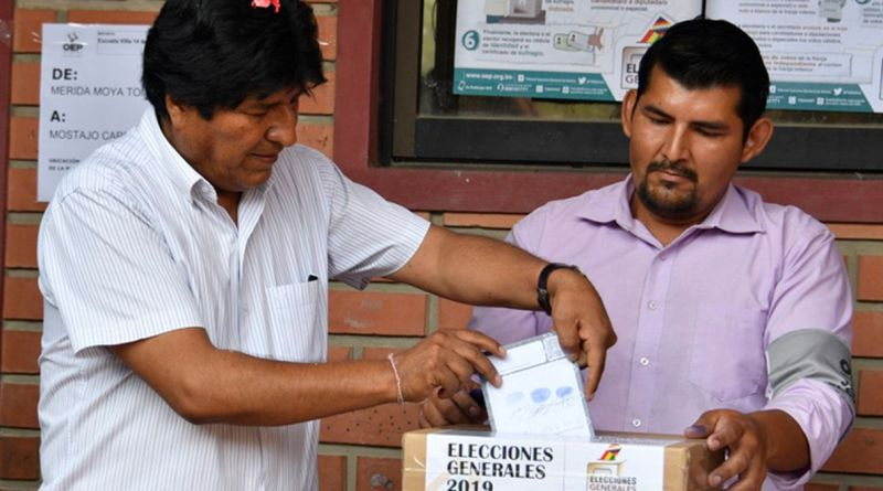 About the OAS and the Elections in Bolivia (CELAG)