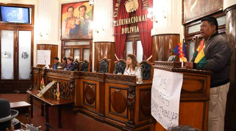 Sergio Choque, an Ally of Evo Morales, Elected Speaker of the House in Bolivia