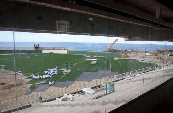 Tiburones de La Guaira's Stadium Almost Finished (Images)