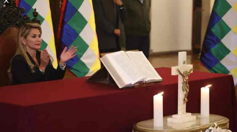 """Jeanine Añez is """"An Absolutely Illegitimate"""" President of Bolivia: Enrique Dussel - Religious Fanaticism  (Interview)"""