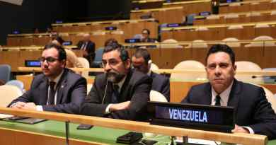 Maduro Government Recognized as the Only Representative of Venezuela at the UN