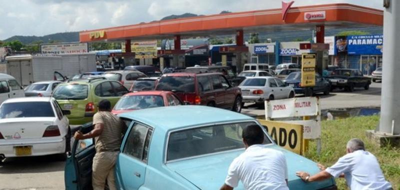 Gasoline Shortages Affecting Venezuela (US Sanctions + Propaganda Campaign)