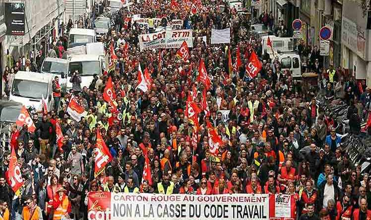 France: Strikers Occupy Bus Terminals