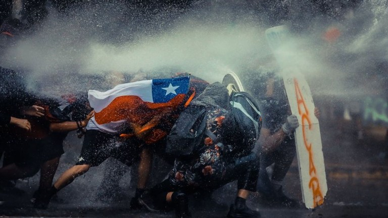 Sorrow Encourages the Struggle in Chile