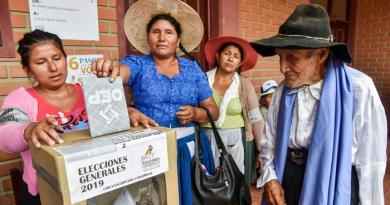 Bolivia: Electoral Tribunal Confirms Election for May 3rd