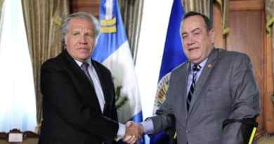 """After Meeting With Almagro: New Guatemalan President Announces the """"Definitive"""" Rupture of Relations With Venezuela"""