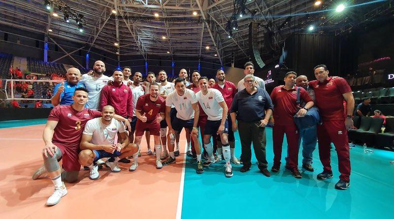 Venezuela Men's Volleyball Team Qualifies for Tokyo 2020 (President Maduro  Celebrates it)