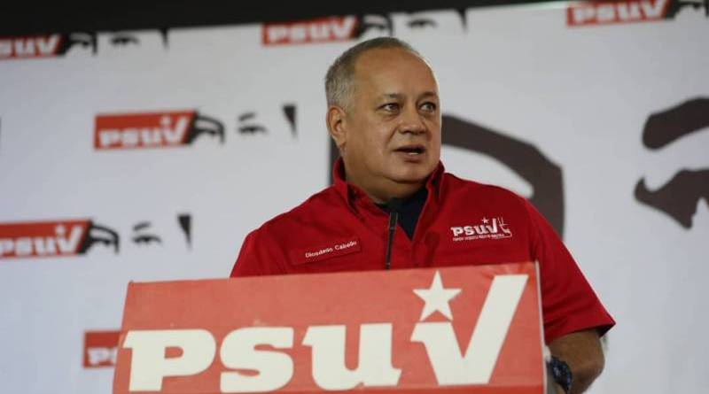 "Diosdado on New US Sanctions: ""That's How Imperialism Works"""