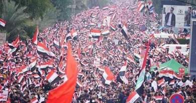 """""""Withdraw or Prepare Coffins"""": Thousands Protest in Iraq Against US Troop Occupation"""