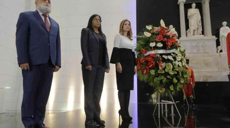 Venezuelan Government Organized a Farewell Ceremony for Outgoing Palestinian Ambassador