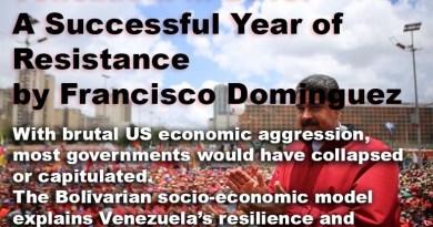 Venezuela in 2019: A Successful Year of Resistance