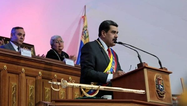 """The US Did Not Consider the Venezuelan People's Strength"": Maduro"