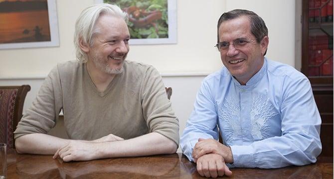 Julian Assange and Latin America
