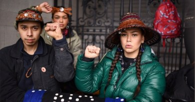 """""""Colonialism In All Its Ugliness"""": Indigenous Defenders Condemn Police Violence on Camp Blocking Pipeline"""