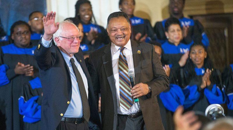 Rev. Jesse Jackson Endorses Bernie Sanders