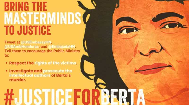 What I learned From Berta #JusticiaParaBerta