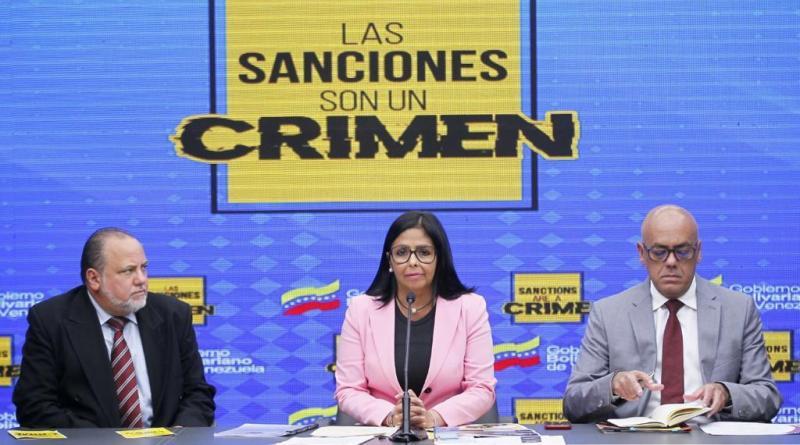 """Delcy Rodríguez: International Criminal Court Reviews Venezuela's Complaint on Illegal """"US Sanctions"""""""