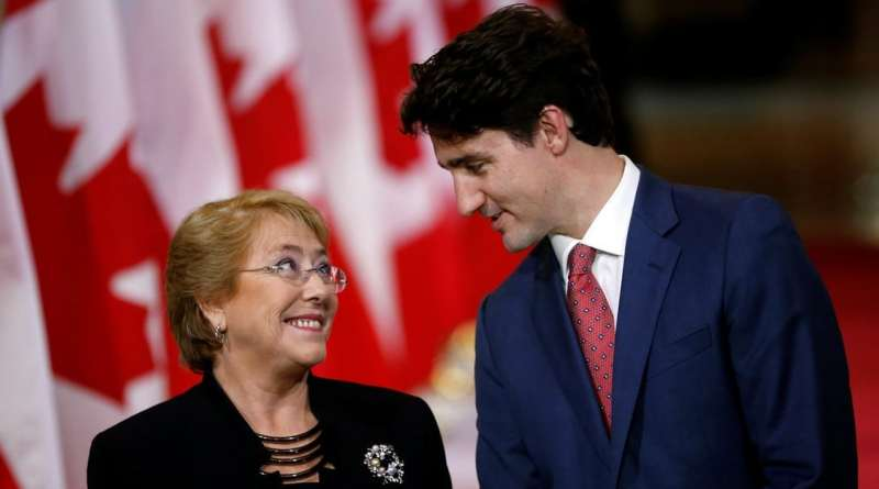 Bachelet in 2019 and 2020