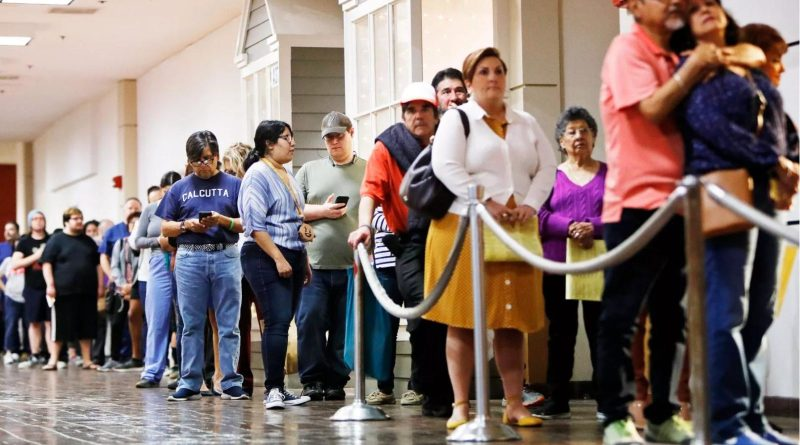 Black and Latino Voters Were Hit Hardest by Long Lines in the Texas Democratic Primary