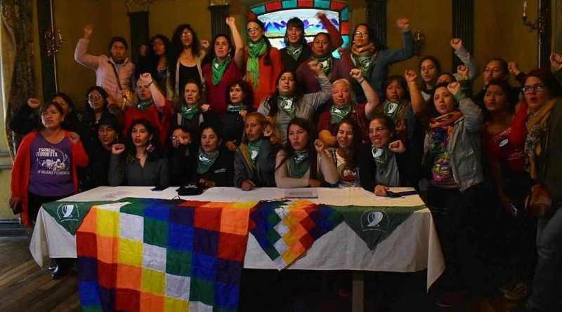 Feminists Travel to Bolivia in Solidarity Against the Coup