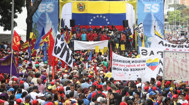 In Images: Great Revolutionary March Contained Violent Opposition Actions Planned for this Tuesday