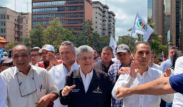 Accion Democratica's Ramos Allup Urges the Opposition to Participate in Parliamentary Elections