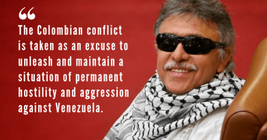 Colombia, Venezuela and Nuestra America: A Conversation with Jesus Santrich of the FARC‐EP (Interview)