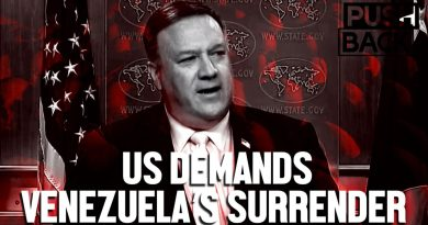 """Pompeo's """"Transition"""" Plan Tells Venezuela to Suffer Into Submission (Interview with CODEPINK Leonardo Flores)"""