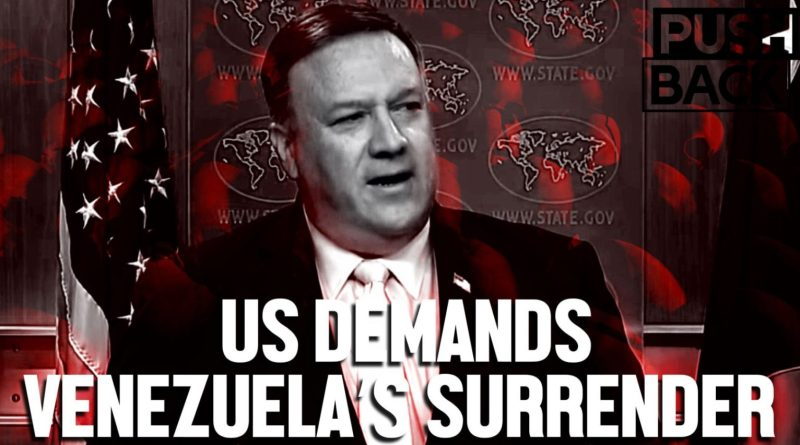 "Pompeo's ""Transition"" Plan Tells Venezuela to Suffer Into Submission (Interview with CODEPINK Leonardo Flores)"