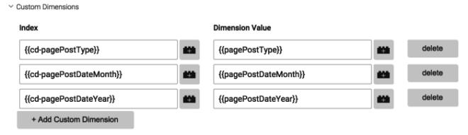 Si configuras la dimensión como una variable, tendrás más flexibilidad para cambiarlo y te será más fácil de configurar