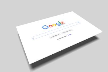 Nueva página de inicio de Google
