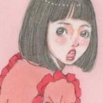 かかとのガサガサに効く「サンホワイト」/「いちご」女の子イラスト