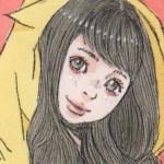 【女の子イラスト】黄色いパーカーの女の子