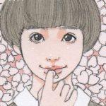 【おすすめ】コピックで背景を描く方法/女の子「桜」イラスト