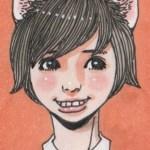 猫耳女の子イラスト