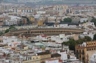 View from the tower - bullfighting ring