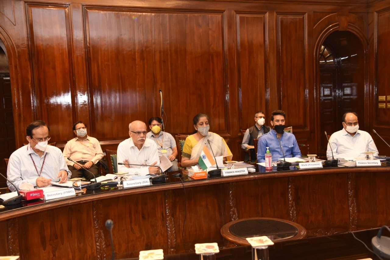 FM Nirmala Sitharaman chairs 22nd Meeting of the Financial ...