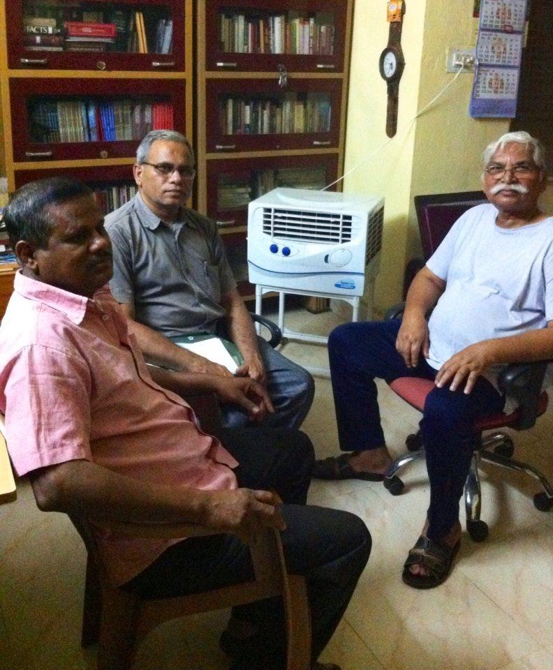 Gajanan babu and Umakant in my study