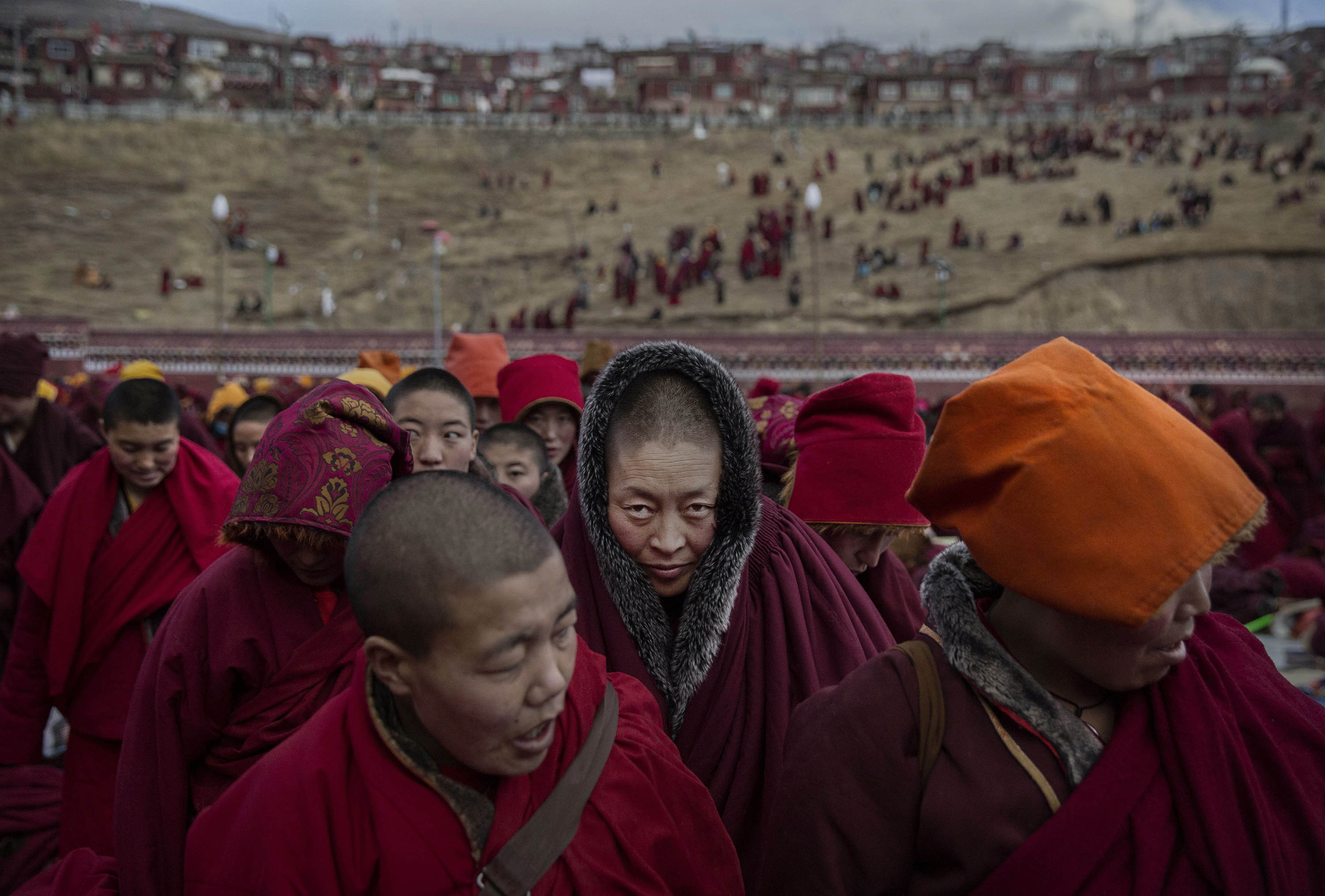 World Press Photo, Tibetans Gather