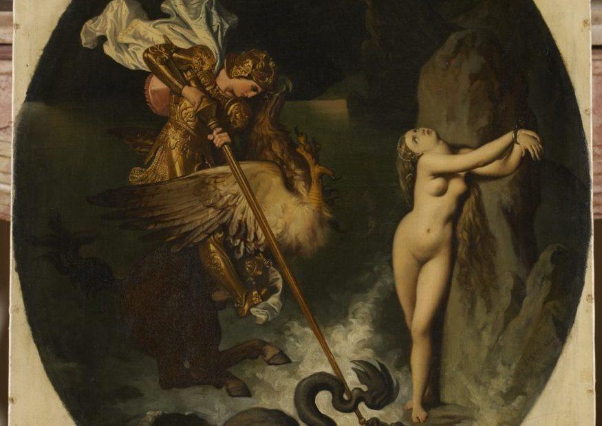 mostra Ariosto, Ruggiero e Angelica