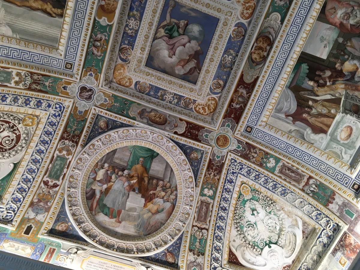 Stanza dei Fasti Farnesiani, Villa Farnese Viterbo