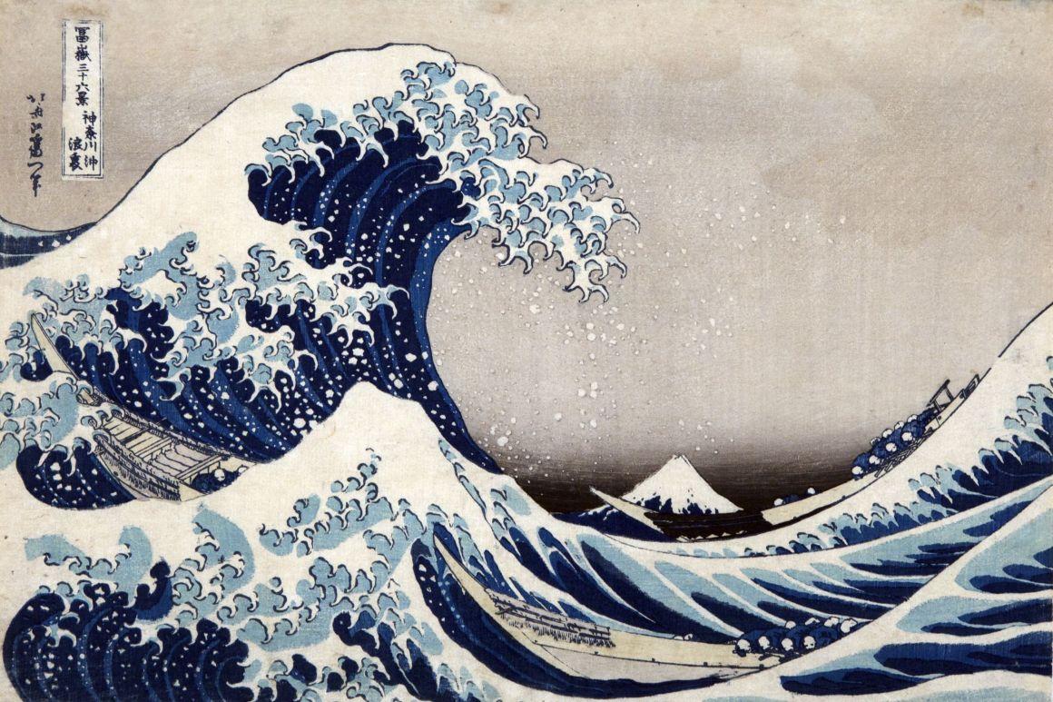 Katsushika Hokusai La [grande] onda presso la costa di Kanagawa