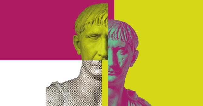 Traiano logo mostra